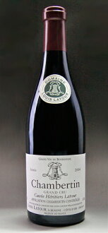 It is Chambertin Cuvee Heritiers [2004] (Louis Latour) シャンベルタンキュヴェ エリティエ La Tour [2004] (Louis La Tour)