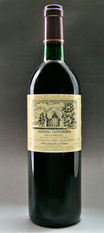 The fifth grade chateau Kant Merle[1987]Medoc rating AOC オー Medoc Chateau Cantemerle [1987]
