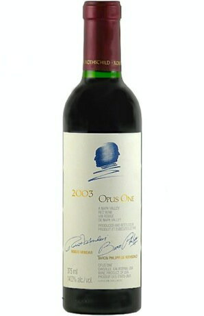 Opus one [1988] Opus One Winery 375 ml Opus One [1988] (Opus One Winery) 375 ml