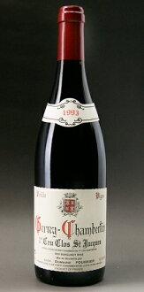 Gevrey-Chambertin 1er Cru clos-Saint Jacques [1993] (Fourier) Gevrey Chambertin 1er Cru Clos St. Jacques [1993] (Fourrier)
