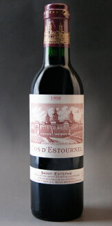 Chateau COS デストゥルネル [1998] 375 ml Chateau Cos d ' Estournel [1998] 375 ml