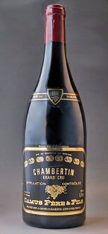 It is 1,500 ml of 1,500 ml of Chambertin Grand Cru [1997] (Domaine Camus Pere et Fils) magnum size Chambertin Grand cru [1997] (ドメーヌ Camus Peer エ フィス)