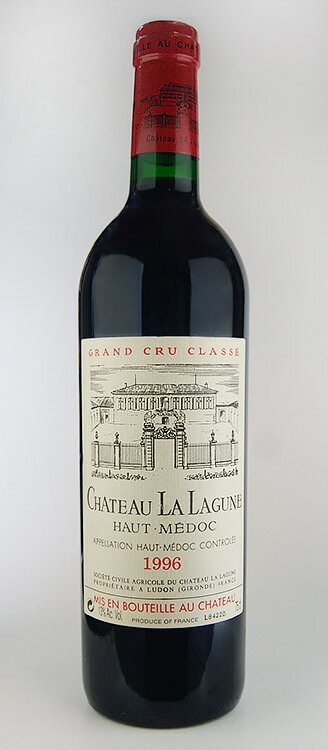 Château La lagune [1996] Médoc Grand Cru Classe, rating third degree Chateau La Lagune [1996]
