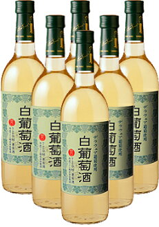 White wine 720 ml 6 pieces (Tamba wines)