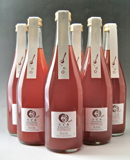 As Gummy oxidation inhibitor-free sparkling Muscat Berry A 500ml set of 6 (Tamba wines)