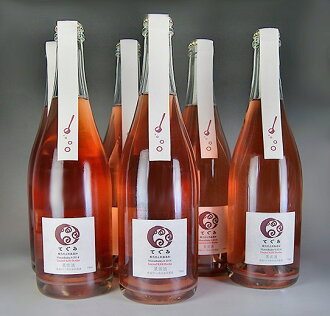 As Gummy oxidation inhibitor-free sparkling Muscat Berry A 750ml set of 6 (Tamba wines)