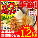 【半額】\エントリーでポイント10倍/ 50%OFF 【送料無料】本場讃岐うどん製麺工場