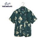 30%OFF SALE【Ladies】セールTIGRE BROCANTE ティグルブロカンテKAKEIレーヨンBox S/S Shirt(半袖アロハシャツ)Lady's & Unisex本品はポイント+1倍です!