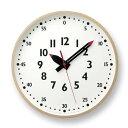 [最大18倍]掛け時計レムノスlemnosfunpunclockふんぷんくろっくYD14-08LLサイズアナログ時計掛時計壁掛けお洒落北欧送料無料【入園入学】