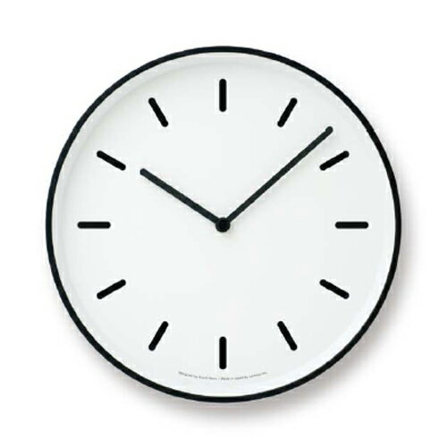 [最大16倍]お得なクーポン発行中!LEMNOS(レムノス)掛け時計奈良雄一MONOClock(モノクロック)ホワイトBlm-LC10-20BWH【楽ギフ_包装】【楽ギフ_のし宛書】【P10】【10P14Nov16】