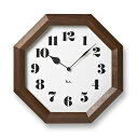 【掛け時計☆レムノス☆送料無料】【レビューを書いてプレゼントを貰おう!】壁掛け時計|掛け時計|八角時計|インテリア雑貨|デザインレムノス渡辺力八角の時計WR-11-01【楽ギフ_のし宛書】10P12Jun12