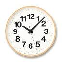 [最大16倍]LEMNOS(レムノス)掛け時計ナンバーの時計LサイズYK16-03L