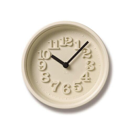 [最大16倍]お得なクーポン発行中!LEMNOS(レムノス)掛け時計・置き時計渡辺力小さな時計WR-07-15アイボリー【楽ギフ_包装】【楽ギフ_のし宛書】【RCP】【P10】【10P14Nov16】