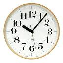 時計 壁掛け 掛け時計 掛時計 電波時計 【 送料無料☆クーポンにて5%OFF 】LEMNOS(レムノス)渡辺力Riki Clock/リキクロックLサイズWR-08-27【楽ギフ_のし宛書】【P10】10P24Jan13【fsp2124】