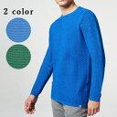 ショッピングストレス DSTREZZED (ディストレス) クルーネック ニット コットンニット ジャガード トップス セーター 冬物 メンズ