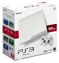 【中古】 PS3 本体 (160GB) クラシックホワイト CECH-3000ALW / 中古 ゲーム