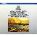 【新品】【CD】ヘンデル:合奏協奏曲作品3&6(全曲) ニコラウス・アーノンクール(cond)