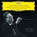 Symphony - 【新品】【CD】モーツァルト:交響曲第40番・第41番≪ジュピター≫ カール・ベーム(cond)