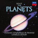 管弦乐 - 【新品】【CD】ホルスト:組曲≪惑星≫ シャルル・デュトワ(cond)