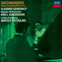 CD - 【新品】【CD】ラフマニノフ:ピアノ協奏曲第2番・第3番 ウラディーミル・アシュケナージ(p)