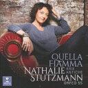 其它 - 【新品】【CD】私を燃え立たせる炎は オリジナル楽譜によるイタリア歌曲集 ナタリー・シュトゥッツマン(A、cond)