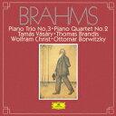 其它 - 【新品】【CD】ブラームス:ピアノ三重奏曲第3番 ピアノ四重奏曲第2番 ヴァーシャーリ/ブランディス クリスト/ボルヴィツキー(p/vn/va/vc)