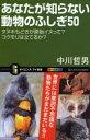 【新品】【本】あなたが知らない動物のふしぎ50 タヌキもどきが原始イヌって?コウモリは立てるか? 中川哲男/著