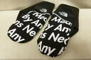 Supreme × THE NORTH FACE シュプリーム × ザ ノースフェイス 15AW Winter Runners Glove NN61500I ウィンター ランナーズ グローブ 黒 サイズ:L 【中古】【送料無料】