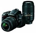 【中古】Nikon デジタル一眼レフカメラ D5100 ダブルズームキット【Bランク】【デジタルカメラ】【2500円以上送料無料】