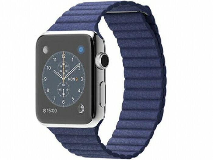 【】apple Apple Watch42mm Mサイズ ブライトブルー レザーループ MJ452【Bランク】【送料無料】【アップルウォッチ】 【】apple Apple Watch42mm Mサイズ ブライトブルー レザーループ MJ452【Bランク】【送料無料】【アップルウォッチ】