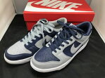 NIKE ナイキ atmos DUNK LOW JP mismatched AA4414-401 27.5cm ネイビー