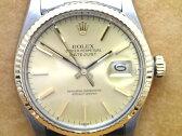 【中古】ROLEX デイトジャスト コンビ メンズ Ref.16013 1984年製 OH済み