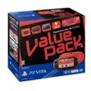 【中古】【PSVita 本体】PlayStation Vita Value Pack Wi-Fiモデル レッド/ブラック【中古ゲーム】