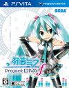 【中古】 初音ミク Project DIVAf PSVita VLJM-35016 / 中古 ゲーム