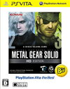 METAL GEAR SOLID HD EDITION PlayStation Vita the Best 【PSVita】【ソフト】【中古】【中古ゲーム】