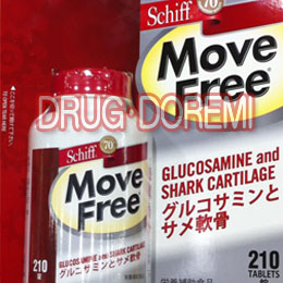 SCHIFF-Schiff Move Free move free Glucosamine, shark cartilage supplement 210 grain