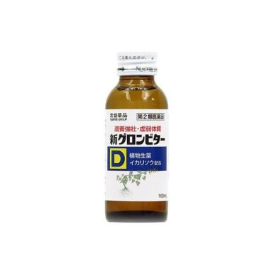 【第2類医薬品】新グロンビターD 100mL 4987156000695 【取寄商品】