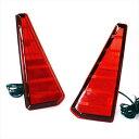 ノア ヴォクシー 80 Si ZS LED リフレクター 選べる2色 テールランプ バックランプ リア カスタム パーツ