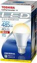 【新品】 東芝 E-CORE(イー・コア) LED電球 一般電球形 7.1W(密閉器具対応・E26口金・一般白熱電球40W相当・485ルーメン・電球色) LDA7L/2