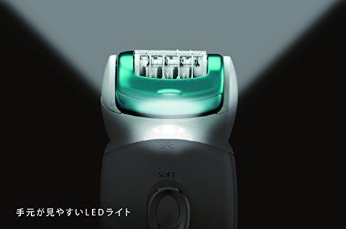 【新品】 パナソニック 脱毛器 ソイエ ボディ用 グリーン調 ES-ED62-G