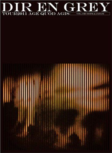 【新品】 TOUR2011 AGE QUOD AGIS Vol.1 [Europe & Japan](初回生産限定盤) [DVD]