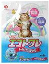 ショッピング猫砂 【中古】お花畑 猫砂 エコトワレ 8L