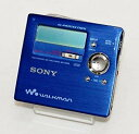 【中古】SONY ソニー MZ-R909 ブルー ポータブルMDレコーダー (MDLP対応/録音/再生兼用機/録再/レコーディングウォークマン)