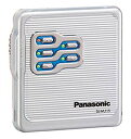 【中古】Panasonic パナソニック SJ-MJ15-S シルバー ポーダブルMDプレーヤー MDLP対応 (MD再生専用機/MDウォークマン)