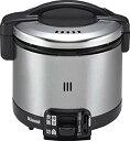 【中古】リンナイ こがまる ガス炊飯器 3.5合炊き・ブラック・都市ガス13A用 RR-035GS-D 13A