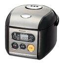 【中古】パナソニック 3合 炊飯器 マイコン式 ブラック SR-MZ051-K