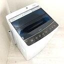 【中古】ハイアール 4.5kg 全自動洗濯機 ブラックHaier JW-C45A-K