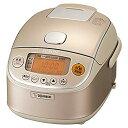 【中古】象印 炊飯器 3合 圧力IH式 極め炊き シャンパンゴールド NP-RK05-NZ