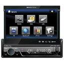 【中古】Soundstream VIR-7830B Single-Din Bluetooth Car Stereo DVD Player with 7-Inch LCD Touchscreen by Soundstream