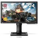 【中古】BenQ ゲーミングモニター ディスプレイ ZOWIE XL2411P 24インチ/フルHD/HDMIDPDVI端子/144Hz/1ms/ブルーライト軽減